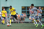 Aston Villa vs Wellington Phoenix during the Main tournament of the HKFC Citi Soccer Sevens on 22 May 2016 in the Hong Kong Footbal Club, Hong Kong, China. Photo by Lim Weixiang / Power Sport Images