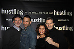"Gerald McCullouch - Sebastian La Cause - Daphne Rubin-Vega - Kevin Spirtas star in the third and final season of ""Hustling"" and attend the screening on December 16, at the Tribeca Cinemas, New York City, New York. The evening had a red carpet, cocktails and the screening. (Photo by Sue Coflin/Max Photos)"