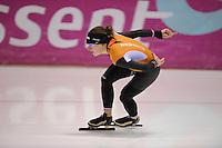 SCHAATSEN: HEERENVEEN: 31-01-2014, IJsstadion Thialf, Training Topsport, Ireen Wust, ©foto Martin de Jong