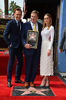 Tom Hiddleson, John Goodman &amp; Brie Larson Hollywood Walk of Fame star ceremony honoring actor John Goodman. Los Angeles, USA 10 March  2017<br /> Picture: Paul Smith/Featureflash/SilverHub 0208 004 5359 sales@silverhubmedia.com