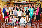 DOUBLE MILESTONE: Cathy and Liam Stack, Tralee pictured with  their family as they celebrated their joint 60th birthdays at Stokers Lodge on Saturday night.
