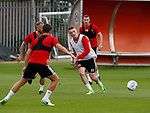 Caolan Lavery of Sheffield Utd during the training session at the Shirecliffe Training complex, Sheffield. Picture date: June 27th 2017. Pic credit should read: Simon Bellis/Sportimage