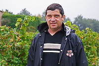 Andre Richard, owner and wine maker.  Domaine la Tourade, André Andre Richard, Gigondas, Vacqueyras, Vaucluse, Provence, France, Europe