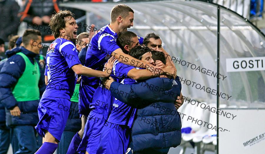 Milos Obradovic  Jelen superliga, Cukaricki - Novi Pazar 23.11.2013.  (credit: Pedja Milosavljevic  / thepedja@gmail.com / +381641260959)