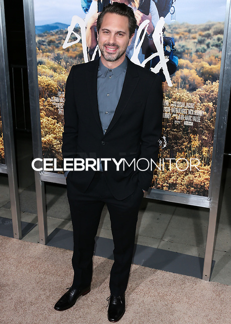 BEVERLY HILLS, CA, USA - NOVEMBER 19: Thomas Sadoski arrives at the Los Angeles Premiere Of Fox Searchlight Pictures' 'Wild' held at the AMPAS Samuel Goldwyn Theater on November 19, 2014 in Beverly Hills, California, United States. (Photo by Xavier Collin/Celebrity Monitor)