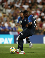 Football: Uefa under 21 Championship 2019, England - France, Dino Manuzzi stadium Cesena Italy on June18, 2019.<br /> France's Moussa Dembélé kicks and fails a penalty during the Uefa under 21 Championship 2019 football match between England and France at Dino Manuzzi stadium in Cesena, Italy on June18, 2019.<br /> UPDATE IMAGES PRESS/Isabella Bonotto