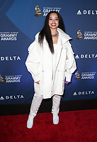 WEST HOLLYWOOD, CA - FEBRUARY 7: Ella Mai, at the Delta Air Line 2019 GRAMMY Party at Mondrian LA in West Hollywood, California on February 7, 2019. <br /> CAP/MPIFS<br /> &copy;MPIFS/Capital Pictures