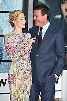 Emily Blunt and Luke Evans<br /> at the premiere of &quot;The Girl on the Train&quot;, Odeon Leicester Square, London.<br /> <br /> <br /> &copy;Ash Knotek  D3156  20/09/2016