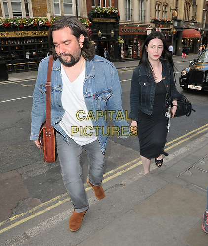 """Matt Berry and guest at the """"Dark Sublime"""" gala performance, Trafalgar Studios, Whitehall, London, England, UK, on Monday 01st July 2019.<br /> CAP/CAN<br /> ©CAN/Capital Pictures"""
