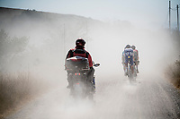dust riders<br /> <br /> 14th Strade Bianche 2020<br /> Siena > Siena: 184km (ITALY)<br /> <br /> delayed 2020 (summer!) edition because of the Covid19 pandemic > 1st post-Covid19 World Tour race after all races worldwide were cancelled in march 2020 by the UCI