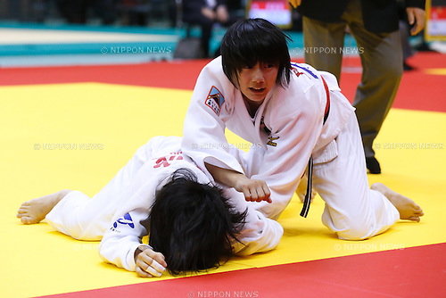 Haruka Funakubo, NOVEMBER 8, 2015 - Judo : Kodokan Cup 2015 Women's -57kg at Chiba Port Arena, Chiba, Japan. (Photo by Sho Tamura/AFLO SPORT)
