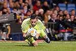 Real Madrid's Kiko Casilla during Copa del Rey match between Real Madrid and Celta de Vigo at Santiago Bernabeu Stadium in Madrid, Spain. January 18, 2017. (ALTERPHOTOS/BorjaB.Hojas)