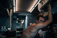 John Degenkolb (DEU/Trek-Segafredo) on the teambus after the stage<br /> <br /> 104th Tour de France 2017<br /> Stage 15 - Laissac-Sévérac l'Église › Le Puy-en-Velay (189km)