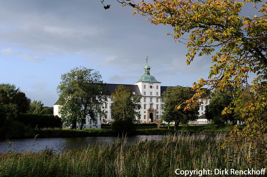 Schloss Gottorf in Schleswig, Schleswig-Holstein, Deutschland