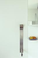 A detail of the 'cut' bathroom tap developed by Mario Tessarollo and Tiberio Cerato for Boffi