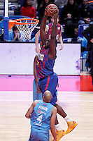 FC Barcelona Regal's Nathan Jawai during Liga Endesa ACB match.January 13,2012. (ALTERPHOTOS/Acero)