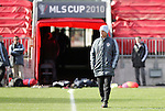 20 November 2010: Head coach Gary Smith (ENG). Colorado Rapids held a practice at BMO Field in Toronto, Ontario, Canada as part of their preparations for MLS Cup 2010, Major League Soccer's championship game.