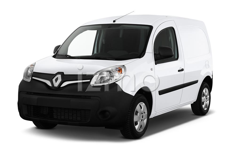 2019 Renault Kangoo Energy Extra 4 Door Car van angular front stock photos of front three quarter view