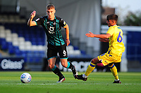 Jay Fulton of Swansea City in action during the pre-season friendly match between Bristol Rovers and Swansea City at The Memorial Stadium in Bristol, England, UK. Tuesday, 23 July 2019