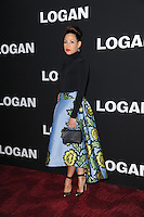 www.acepixs.com<br /> February 24, 2017  New York City<br /> <br /> Elizabeth Rodriguez attending the 'Logan' New York screening at Rose Theater, Jazz at Lincoln Center on February 24, 2017 in New York City.<br /> <br /> Credit: Kristin Callahan/ACE Pictures<br /> <br /> Tel: 646 769 0430<br /> Email: info@acepixs.com