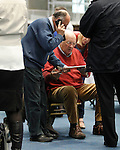 24/05/2014<br /> Tallies People pictured at the Limerick Count Centre.<br /> Pic: Don Moloney/Press 22