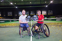 Rotterdam, The Netherlands, 14 Februari 2019, ABNAMRO World Tennis Tournament, Ahoy, Wheelchair final, Stephane Houdet (FRA) / Nicolas Peifer (FRA) winners,<br /> Photo: www.tennisimages.com/Henk Koster