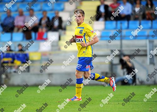 2012-08-25 / Voetbal / seizoen 2012-2013 / KVC Westerlo / Jonas Laureys..Foto: Mpics.be