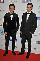 Colin Dack and Josh Parkinson at the Football For Peace Initiative Dinner by Global Gift Foundation, Corinthia Hotel, Whitehall Place, London, England, UK, on Monday 08th April 2019.<br /> CAP/CAN<br /> ©CAN/Capital Pictures