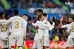 Real Madrid CF's Luka Modric  celebrates after scoring a goal during the Spanish La Liga match round 19 between Getafe CF and Real Madrid at Santiago Bernabeu Stadium in Madrid, Spain during La Liga match. Jan 04, 2020. (ALTERPHOTOS/Manu R.B.)