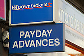 Pawnbroker offering payday loans in Ilford.