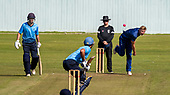 Cricket Scotland - the Citylets Scottish Cup Final between Carlton CC V Heriots CC at Meikleriggs, Paisley (Ferguslie CC) - Heriots Elliot Ruthven bowling - picture by Donald MacLeod - 25.08.19 - 07702 319 738 - clanmacleod@btinternet.com - www.donald-macleod.com