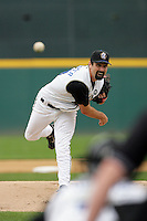 April 11, 2010: Matt Shoemaker of the Rancho Cucamonga Quakes during game against the Inland Empire 66'ers at The Epicenter in Rancho Cucamonga,CA.  Photo by Larry Goren/Four Seam Images