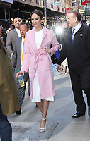 NEW YORK, NY April .18, 2017 Troian Bellisario at Good Morning America  to  talk about final season of Pretty Little Liars in New York April 18,  2017. <br /> CAP/MPI/RW<br /> &copy;RW/MPI/Capital Pictures