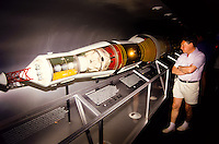 Apollo rocket at the smithsonean museum in Washington DC, USA