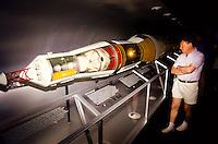 Apollo rocket at the smithsonean museum in Washington DC, USA