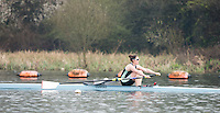 Caversham. Berkshire. UK<br /> Melissa WILSON.<br /> 2016 GBRowing U23 Trials at the GBRowing Training base near Reading, Berkshire.<br /> <br /> Monday  11/04/2016 <br /> <br /> [Mandatory Credit; Peter SPURRIER/Intersport-images]