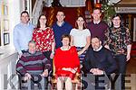 Dan Joe and Bridget McCarthy Mastergeeha, Kilcummin, celebrated 50th wedding anniversary  front row l-r: Dan Joe, Bridget McCarthy and John McCArthy Carthy, Ann Flashman, Danny McCarthy, Breda Healy Patrick Anderson, Noreen Anderson.