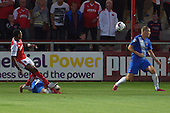 11/08/2015 Capital One Cup, First Round Fleetwood Town v Hartlepool United<br /> Amari'li