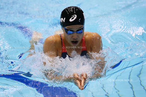 Runa Imai, <br /> MAY 22, 2016 - Swimming :<br /> Japan Open 2016 <br /> Women's 200m Breaststroke Heat <br /> at Tatsumi International Swimming Center in Tokyo, Japan.<br /> (Photo by Yohei Osada/AFLO SPORT)