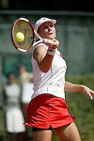 16-8-06,Amsterdam, Tennis, NK, Quarter final match, Linda Sentis