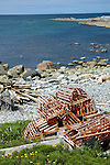 Lobster Traps, Western Brook, Newfoundland, Canada