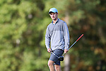 CHAPEL HILL, NC - OCTOBER 07: UNC's Joshua Martin on the 2nd tee. The first round of the Tar Heel Intercollegiate Men's Golf Tournament was held on October 7, 2017, at the UNC Finley Golf Course in Chapel Hill, NC.