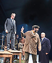 An Enemy of The People by Henrik Ibsen, a new version by Christopher Hampton directed by Howard Davies. With Hugh Bonneville as Dr Tomas Stockmann, Keiran Gough as Anders, Jonathan Cullen as Aslaksen. Opens at Chichester Festival Theatre on 4/5/16 CREDIT Geraint Lewis