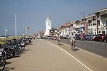 Sea front boulevard Katwijk, Holland