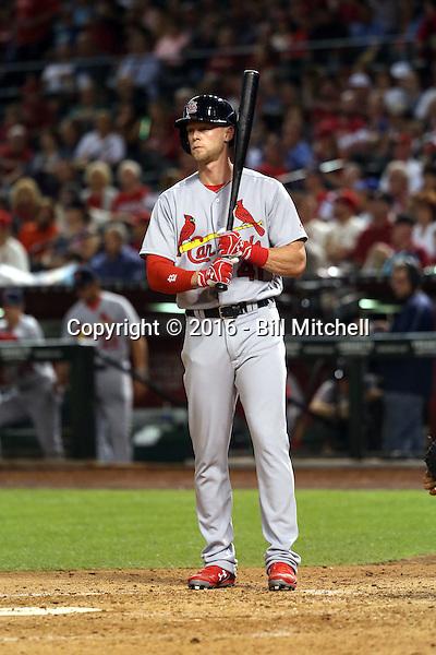 Jeremy Hazelbaker - 2016 St. Louis Cardinals (Bill Mitchell)
