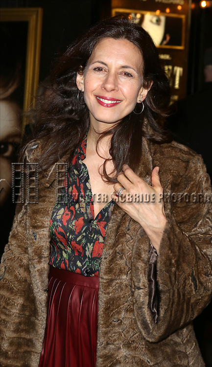 Jessica Hecht  attending the Broadway Opening Night Performance of 'Cabaret' at Studio 54 on April 24, 2014 in New York City.