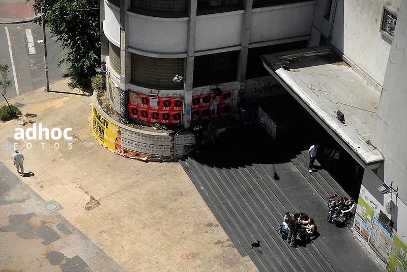 Liceo 4, Zorrilla. Montevideo, 2007.<br /> URUGUAY / MONTEVIDEO / <br /> Foto: Ricardo Ant&uacute;nez / AdhocFotos<br /> www.adhocfotos.com