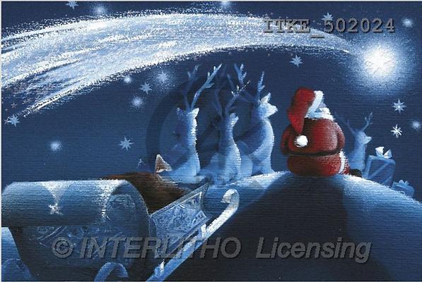 Isabella, CHRISTMAS SANTA, SNOWMAN, paintings(ITKE502024,#X#) Weihnachtsmänner, Schneemänner, Weihnachen, Papá Noel, muñecos de nieve, Navidad, illustrations, pinturas