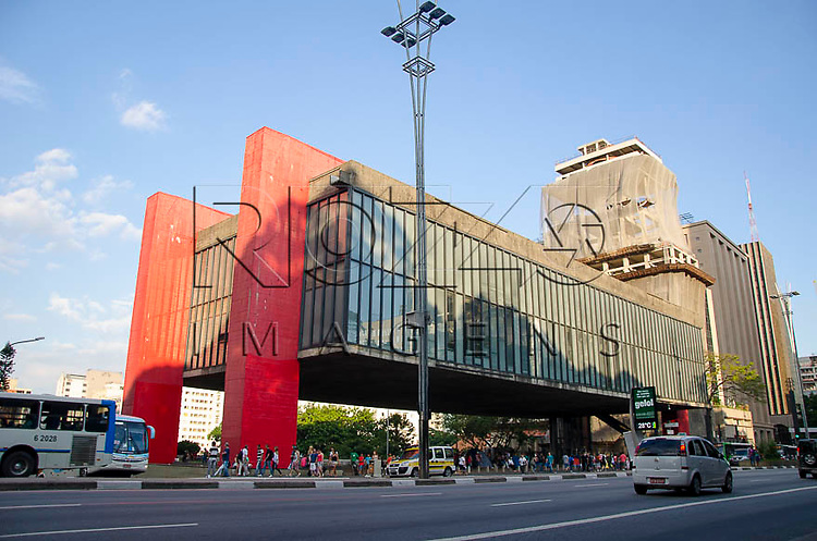MASP - Museu de Arte de São Paulo Assis Chateaubriand na Avenida Paulista, São Paulo - SP, 01/2014.