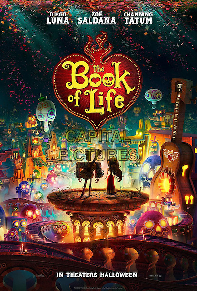 POSTER ART<br /> in The Book of Life (2014) <br /> *Filmstill - Editorial Use Only*<br /> CAP/NFS<br /> Image supplied by Capital Pictures